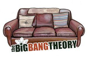 Alquiler sofa Big Band Theory